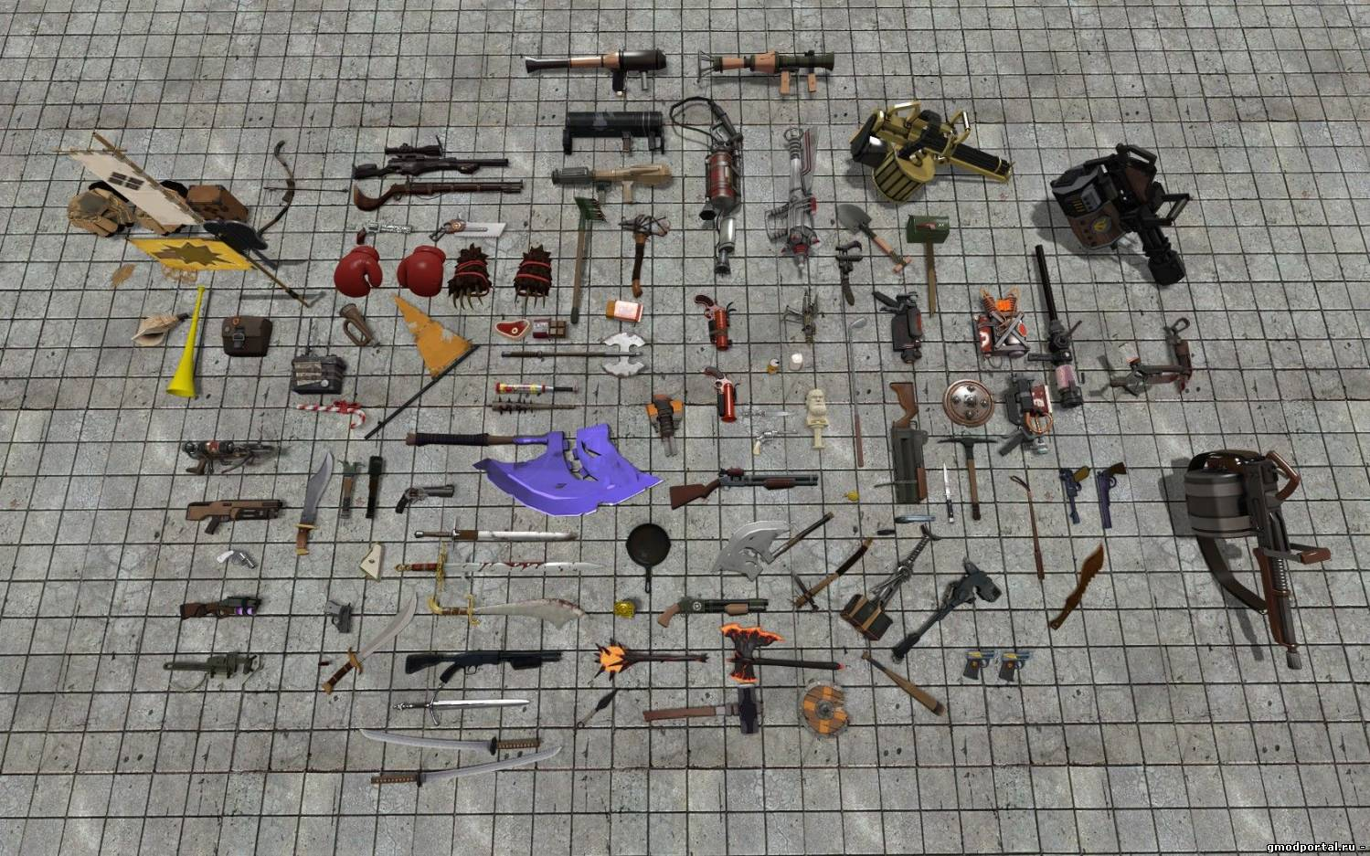 Модели - Каталог файлов - Garry's mod Portal